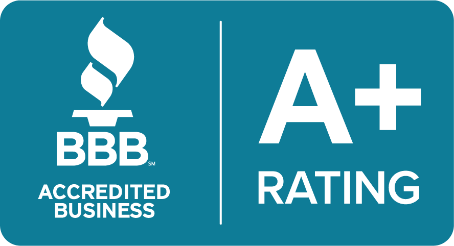 Better Business Bureua A+ Rating Icon